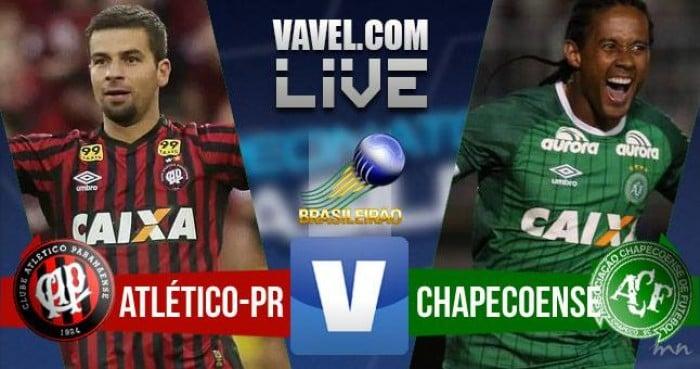 Resultado Atlético-PR x Chapecoense (3-1)