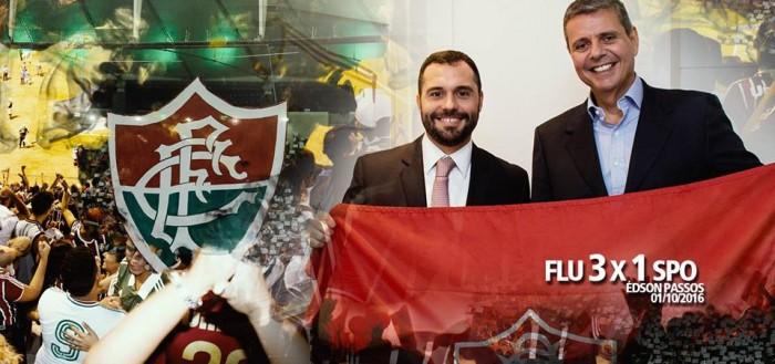 Lançamento da candidatura de Mário Bittencourt à presidência do Fluminense