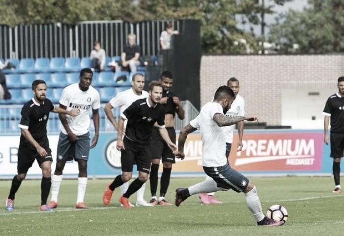 Em amistoso, Gabriel Barbosa marca seu primeiro gol pela Internazionale