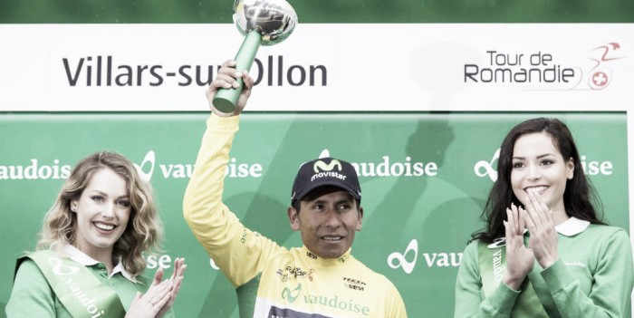 Nairo, campeón del Tour de Romandia