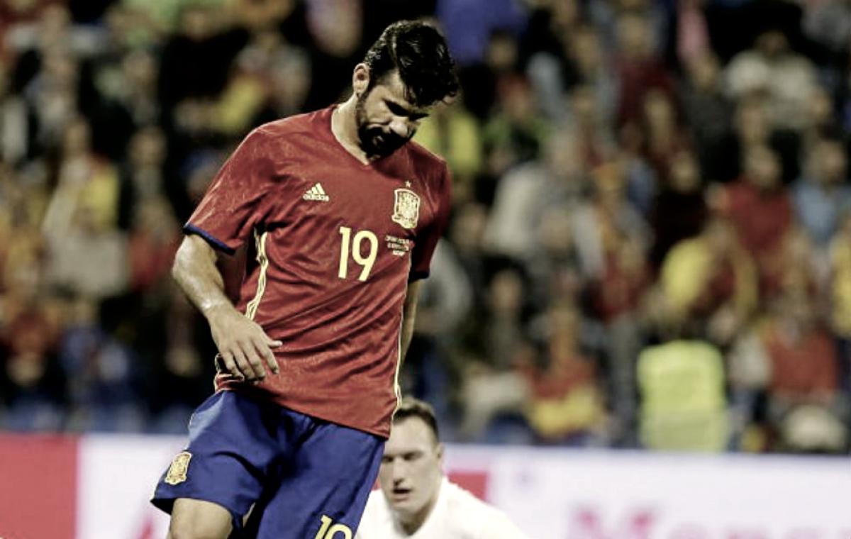 """Diego Costa """"redebuta"""" con la Selección"""