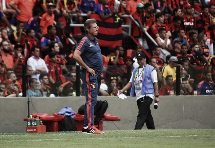 """Oswaldo de Oliveira alega falta de confiança por parte do Sport: """"Interfere no equilíbrio"""""""