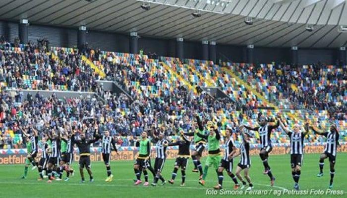 Udinese - Pescara: formazioni ufficiali