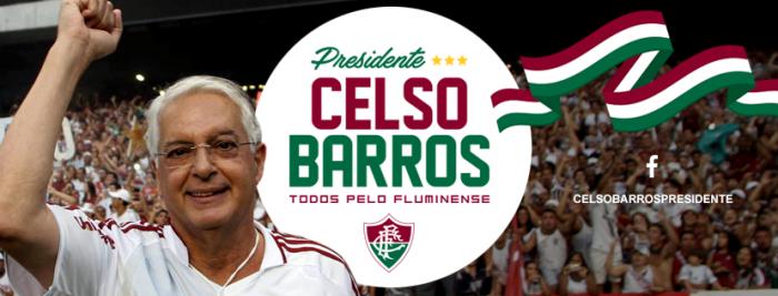 Lançamento da candidatura de Celso Barros à presidência do Fluminense