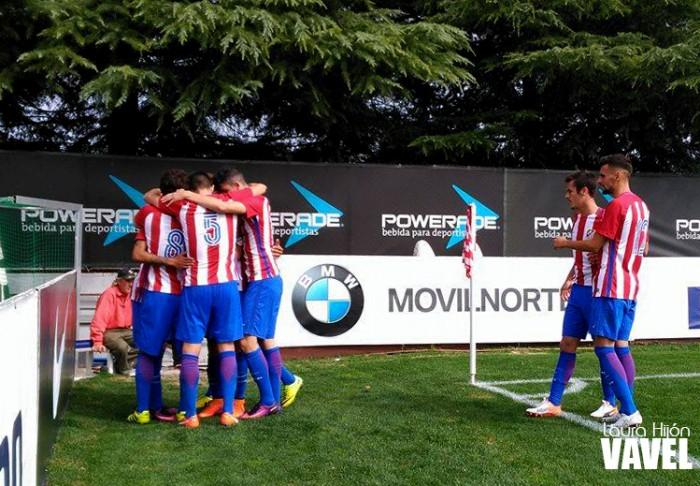 El Atlético B roza la cima tras su victoria contra el Internacional