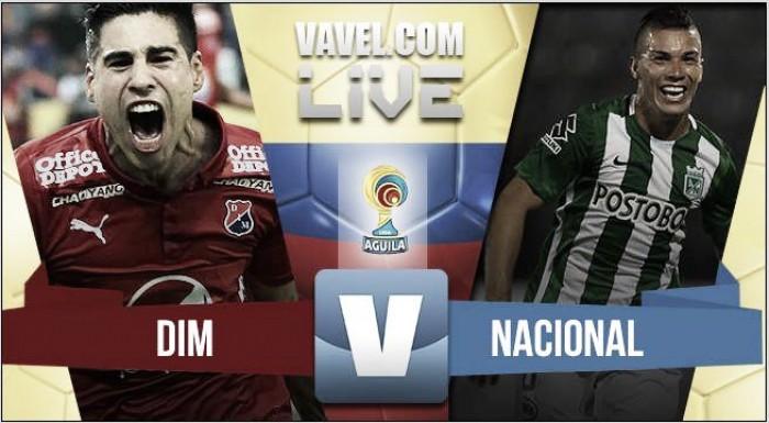 Resultado Independiente Medellín vs Atlético Nacional por la Liga Águila 2016 (2-2)