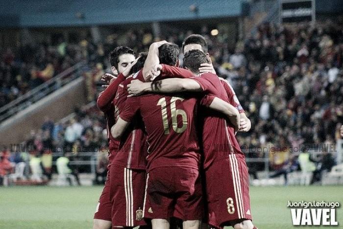 España, la tercera Selección más goleadora