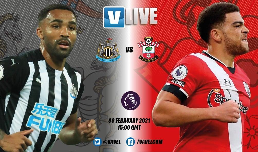 As it happened: Newcastle United 3-2 Southampton