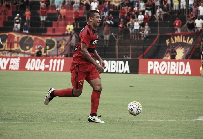 Diego Souza tem diagnosticada lesão na coxa e desfalca Sport por duas semanas