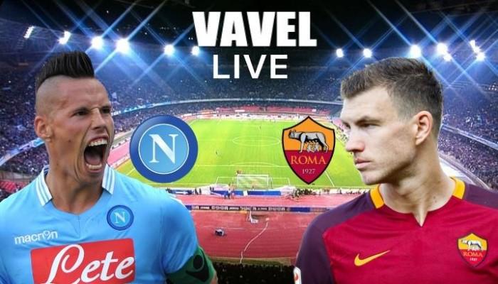 La Roma espugna il San Paolo grazie a Dzeko e Salah