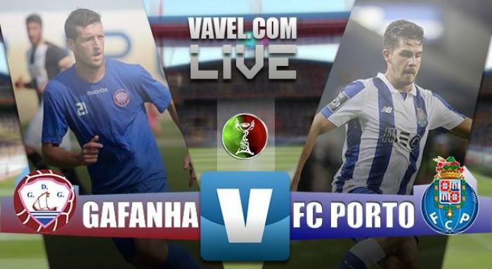 GD Gafanha 0 - 3 FC Porto: cumplido el trámite.