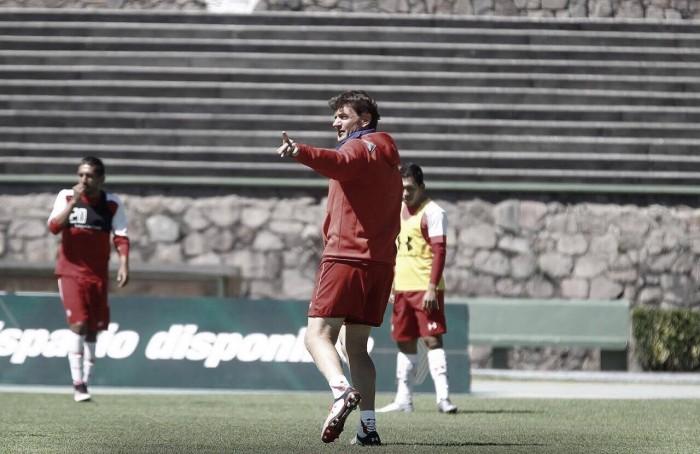 """Hernán Cristante: """"Tenemos que hacer nuestro juego"""""""