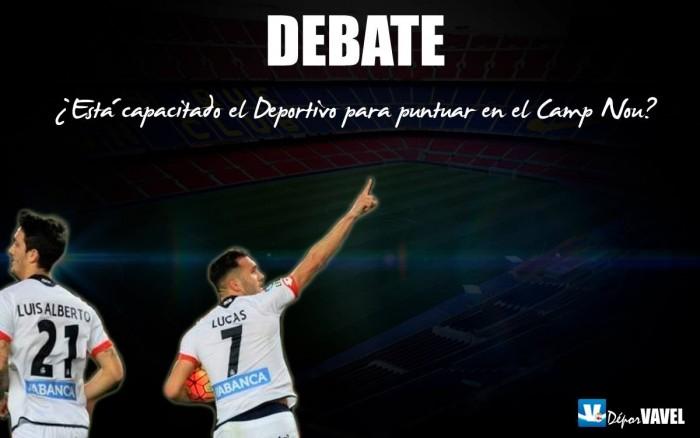 Debate: ¿Está capacitado el Deportivo para puntuar en el Camp Nou?