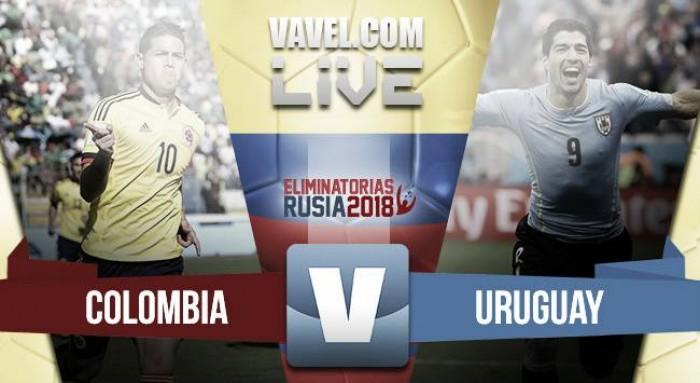 Goles Colombia vs Uruguay por Eliminatorias Rusia 2018 (2-2)