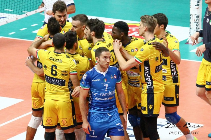 Volley M - In Superlega la Lube guida la classifica, incalzata da Modena e Perugia