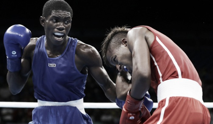 Yuberjen Martínez pasó a la gran final en el boxeo