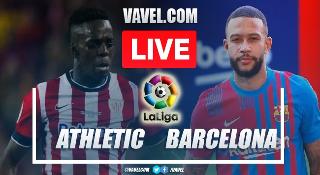 Goals and Highlights Athletic Bilbao 1-1 Barcelona in 2021 LaLiga