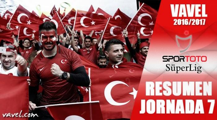 Resumen de la jornada 7 de la Süper Lig