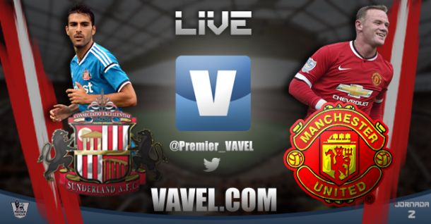 Sunderland vs Manchester United en vivo y en directo online