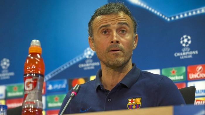 """Barcellona, Luis Enrique prima del City: """"Non c'è cosa più stimolante che battere un amico"""""""