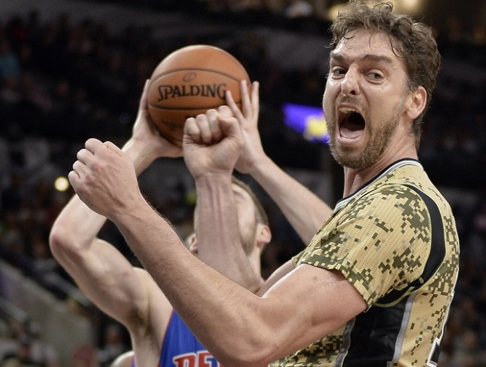 Gasol sale in cattedra e San Antonio batte Detroit (96-86)