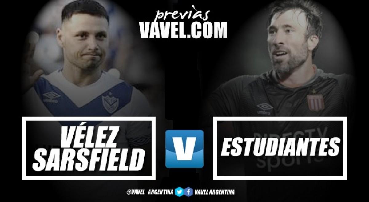 Previa Vélez vs Estudiantes: con Mariano Pavone en el medio