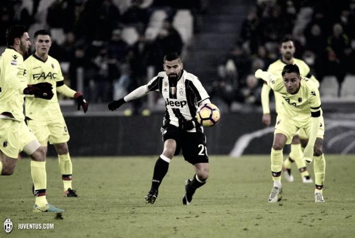 El Juventus pasa a cuartos de final con Tomás Rincón de titular