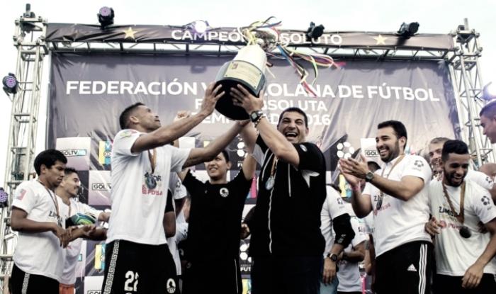 Candidatos al título de primera división de Venezuela
