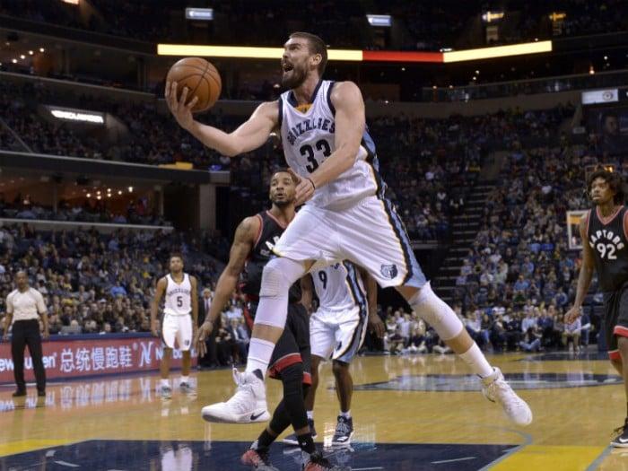 NBA - Principesco Marc Gasol, 42 punti realizzati contro i Toronto Raptors