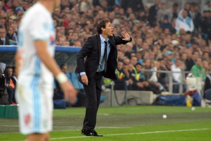 Rudi Garcia pede paciência para torcida como time do Olympique Marseille