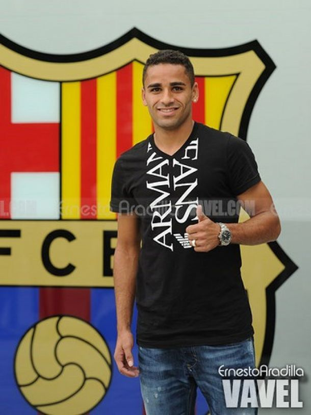 """Douglas Pereira: """"En el fútbol tienes que buscar tus oportunidades entrenando"""""""