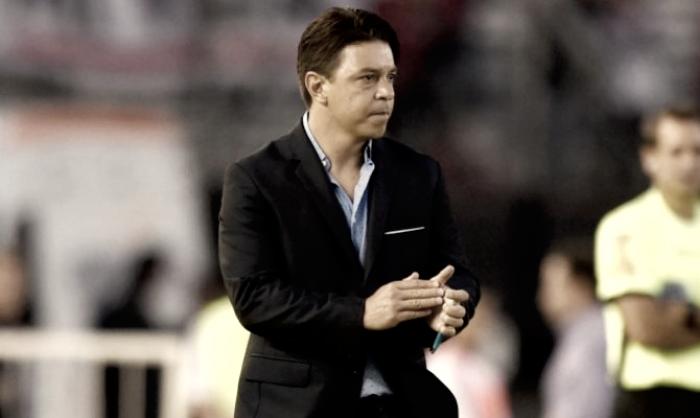Gallardo: ''Fue un partido bastante complicado''