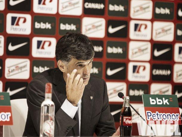 """Mendilibar: """"Es un partido de nuestra liga, tenemos que competir para ganar"""""""