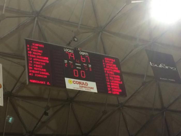 Serie A2, la Givova ritrova se stessa: il derby campano è di Scafati