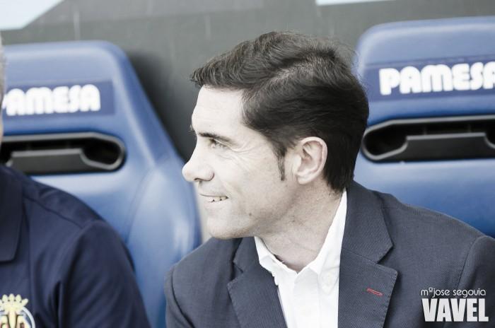 """Marcelino acredita que briga pelo título está aberta e 'corneta' Real Madrid: """"Está mais fraco"""""""