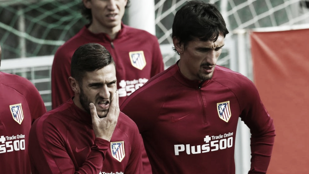 Bajas importantes del Atlético para el Camp Nou