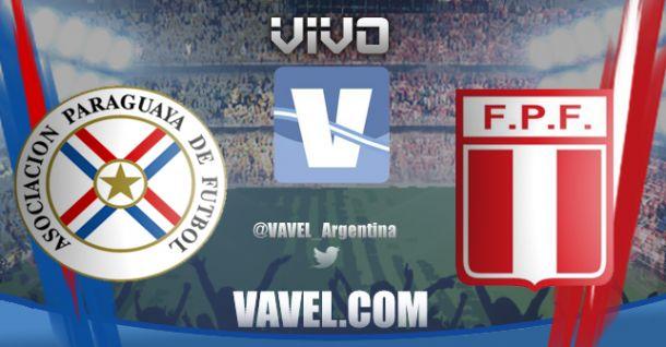 Partido Paraguay vs Perú en vivo online