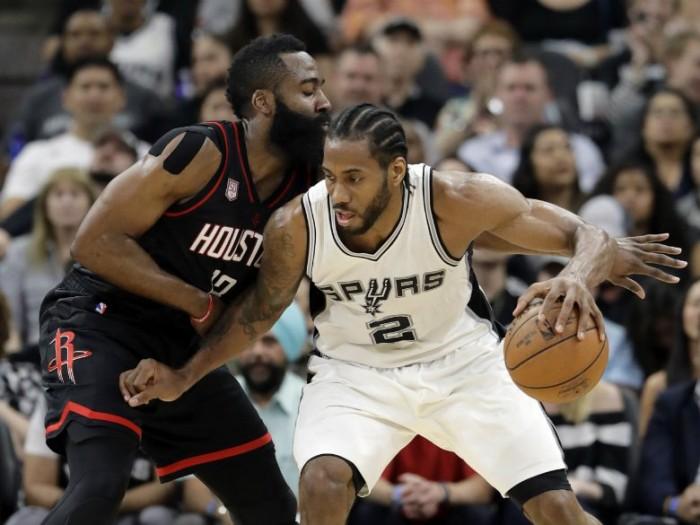 NBA Playoffs: Rivincita Spurs, Houston sprofonda 121-96