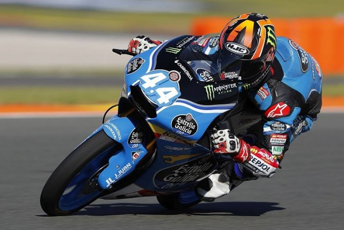 Rookie Canet claims the final Moto3 pole of the season in Valencia