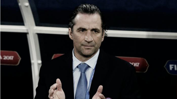 """Juan Antonio Pizzi: """"Este equipo tiene un amor propio muy grande"""""""