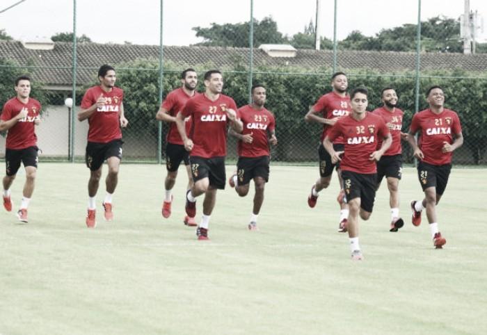 Motivado após Pernambucano, Sport ganha retorno de titulares para enfrentar Atlético-PR