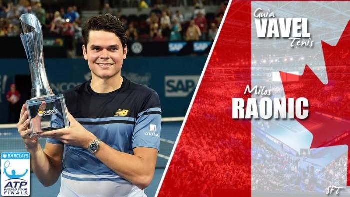 ATP World Tour Finals 2016. Milos Raonic, el aspirante