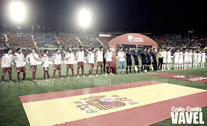 España jugará en Skopje ante Macedonia