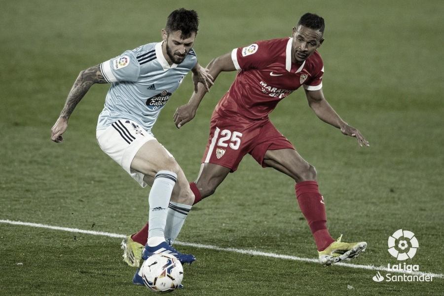 Celta 3 - 4 Sevilla, un magistral ataque no palia una anticompetitiva defensa