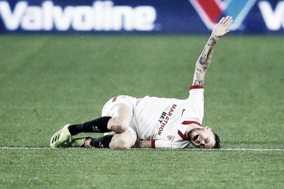 Sevilla: Exame médico descarta edema ósseo, mas Lucas Ocampos pode ter rompido os ligamentos