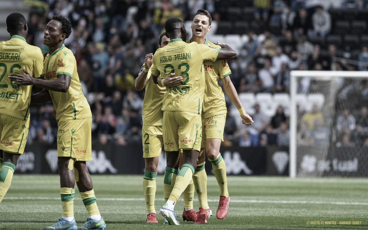 Em início movimentado, Nantes goleia e encerra invencibilidade do Angers na temporada