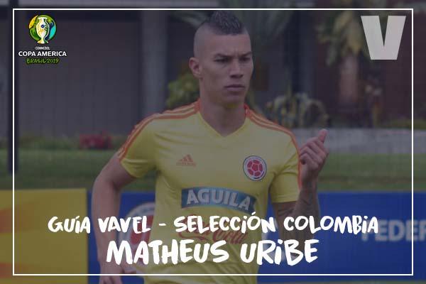 Guía VAVEL, cafeteros en la Copa América 2019: Mateus Uribe