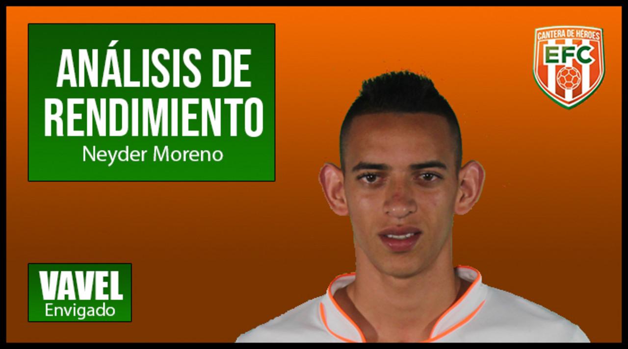Análisis naranja 2018-II: Neyder Moreno