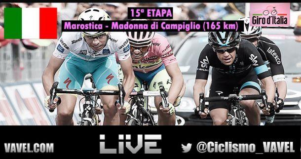 Giro D'Italia 2015, 15^ tappa Marostica - Madonna di Campiglio: vince Landa, Contador in controllo