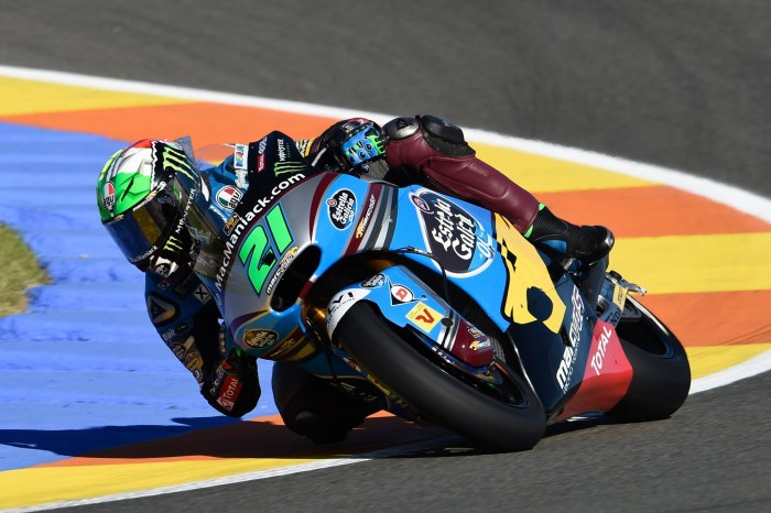 Moto2: Morbidelli quickest in Valencia hoping to claim his first win